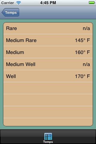 GrillTime on iOS